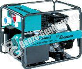 Бензогенератор Eisemann H 13000 Е (Германия) мощностью 13,0 кВА ( 10,4 кВт)