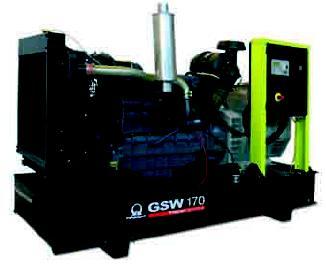 Электростанция Pramac GSW 170 DFСB (Италия) мощностью 159 кВА ( 127 кВт)