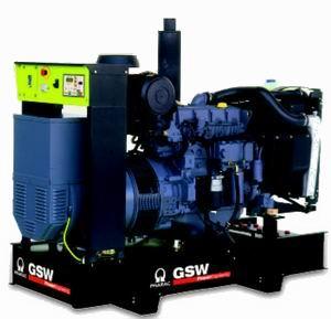 Электростанция GSW 145 WMDB (Италия) мощностью 135 кВА ( 108 кВт)