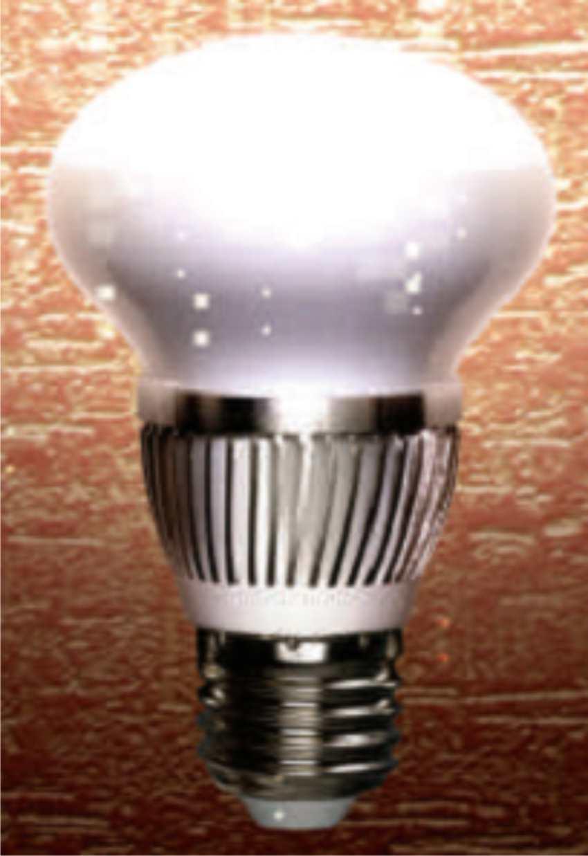Светодиодная лампа зеркальная ( E27 4 W)
