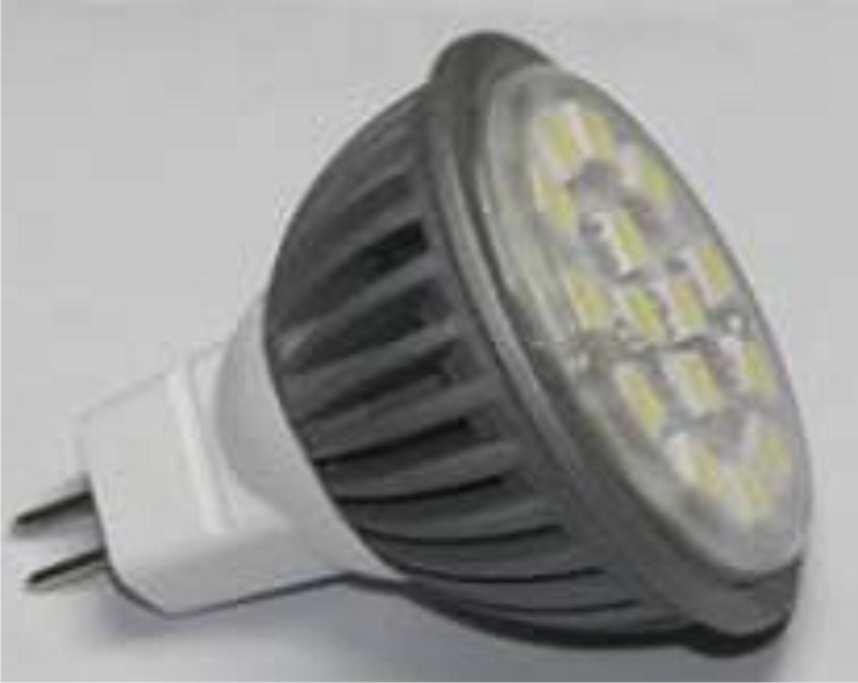 Светодиодная лампа (MR 16 3W)