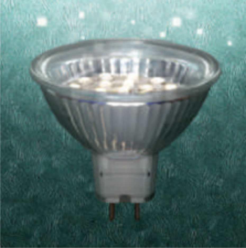 Светодиодная лампа (MR 16 1,2W)