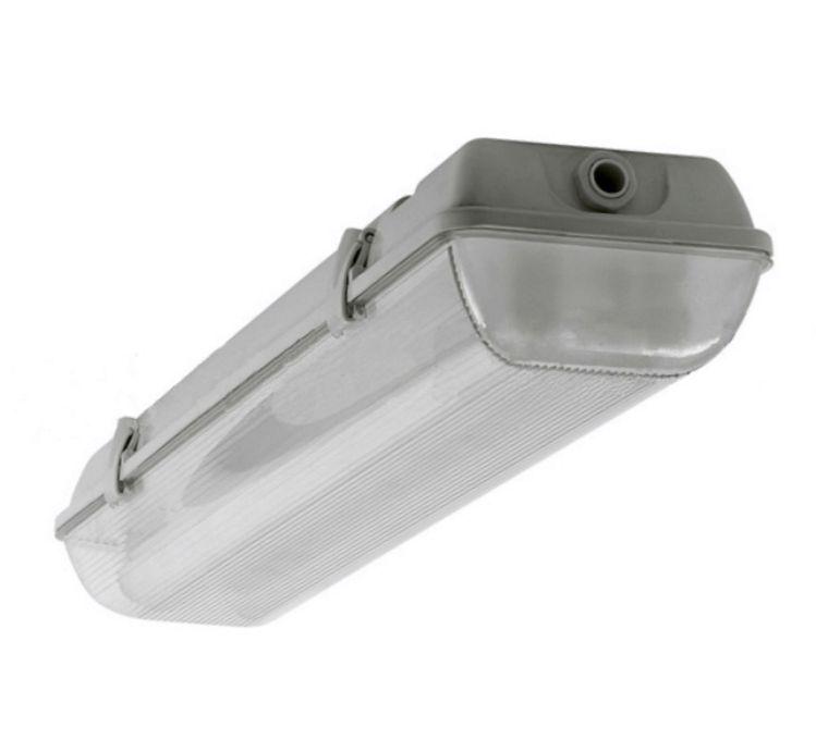 Пылевлагозащищенный светильник ЛСП49 2х18  с ЭПРА