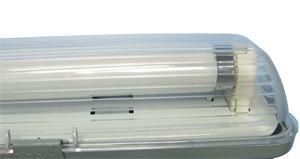 Пылевлагозащищенный светильник ЛСП49 1х36 с ЭПРА