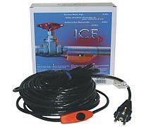 Нагрев. кабель PGE-01 (трубопровод) , 14 Вт,1м,саморег.,двухпров.