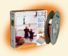 Комплект теплый пол в стяжку кабель ECOFLOOR DTS 12 1400 от 9.3 до 12.7 м.кв.