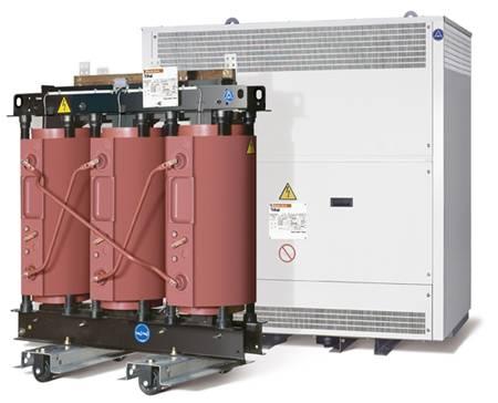 Сухой трансформатор TRIHAL 315 кВа; 10/0,4кВ; D/Yn-11; IP31