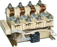 Контакторы вакуумные четырехполюсные КВ1,14-2,5/250-4У3 110,220 ДС