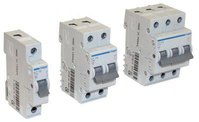 MY106Автоматический выключатель 1P 4,5kA C-6A 1M