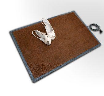 Коврик подогреваемый Теплолюкс-carpet 800х500 коричневый, для сушки обуви