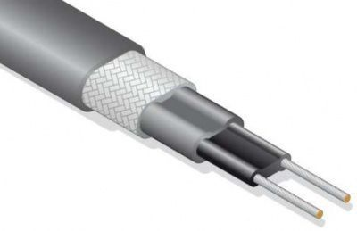 Саморегулирующийся греющий кабель (Lavita TMS 40-2 CR (Промышленный обогрев труб)