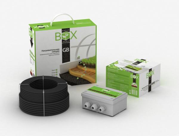 Секция нагревательная кабельная для обогрева теплиц Green Box Agro 14GBA-500 Вт