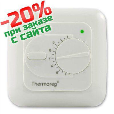 Терморегулятор Thermoreg TI-200 белый (Швеция)