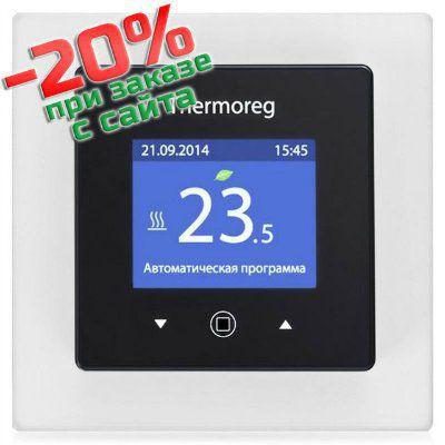 Терморегулятор Thermoreg TI-970 программируемый сенсорный с цветным дисплеем (Швеция)