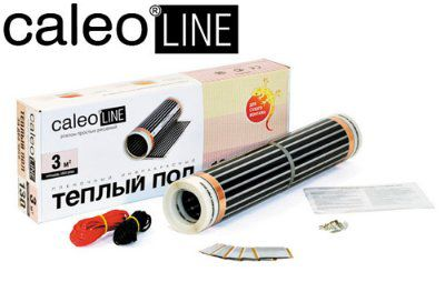 Тёплый пол инфракрасный Caleo Line 130 - 0,5 - 1,0 кв.м.