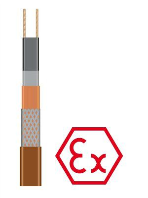 Саморегулирующийся греющий кабель 25HTA2-BT для систем антиобледенения и обогрева