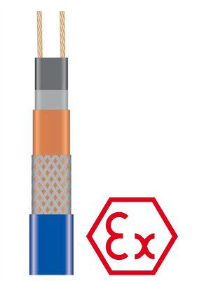 Саморегулирующийся греющий кабель 25HTP2-BT для систем антиобледенения и обогрева