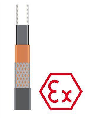 Саморегулирующийся греющий кабель 45BTX2-BP для систем антиобледенения и обогрева