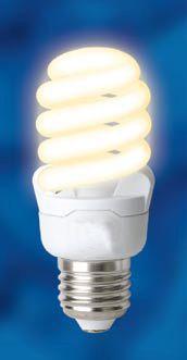 Лампа энергосберегающая спиральная 12Вт=60Вт (ESL-S41-12/3300 RELAX)