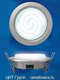 Светильник GX53 потолочный энергосберегающий встраиваемый (GX53/H4)