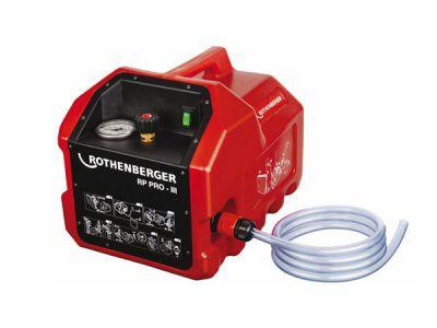 Электрический насос (опрессовщик) RP PRO III Ротенбергер (Rothenberger).