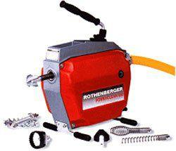 Электромеханическая прочистная машина R 650 (Ротенбергер, Rothenberger) для прочистки труб.