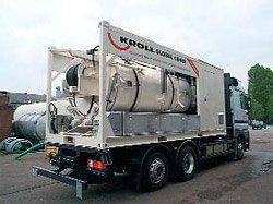 Комбинированные гидродинамические машины KROLL - Установки контейнерного типа