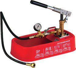 Ручной опрессовочный насос (опрессовщик) RP 30 Ротенбергер (Rothenberger).