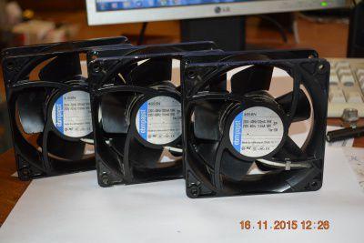 Вентилятор Ebmpapst 4656n 220в 50\60Гц 19\18Вт.