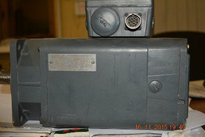 Электродвигатель SIEMENS 1HU 3071-0AC01-Z  2000 1sec. 7,4A.   1,09kw