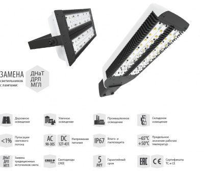 Светильник LAD LED R500