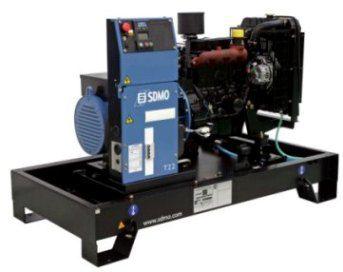 SDMO Pacific T22K (17,6 кВт/22 кВА) Трехфазная стационарная дизельная электростанция