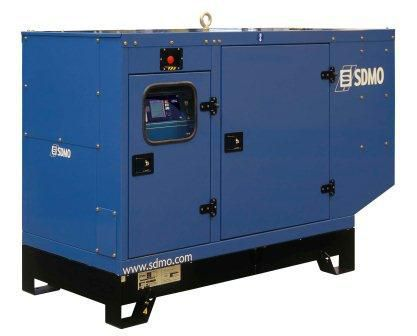 SDMO Montana J 66K-IV (52,8 кВт/66 кВА) Трехфазная стационарная дизельная электростанция в шумозащитном кожухе