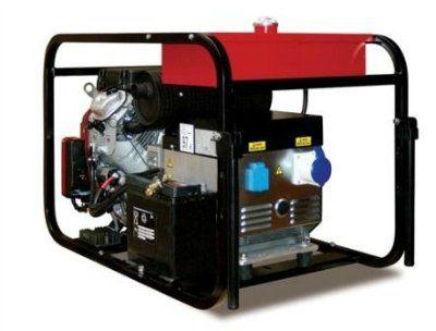 GESAN G 12000 H Портативный 1-фазный бензогенератор с электростартером, с двигателем HONDA 3000 об/мин. Номинальная мощность 9,6 кВт.