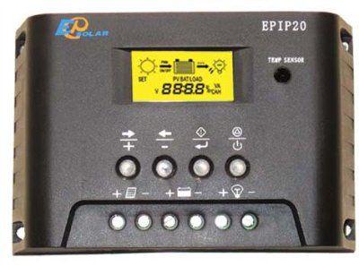 Контроллер заряда с таймером и часами EPIP20-LT