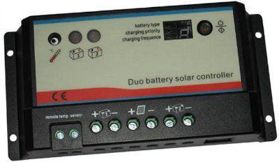Контроллер заряда для 2 АБ EPIP20-DB 12/24В