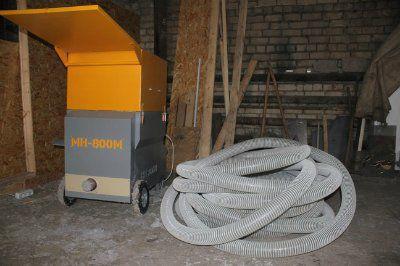 Профессиональные выдувные установки МН-800М для монтажа эковаты