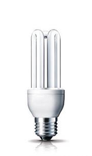 Энергосберегающая лампа 4U(E14-27) 25W,2700К и 6400К