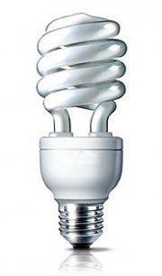 Энергосберегающая лампа спираль 25W (E14-27),2700К и 6400К