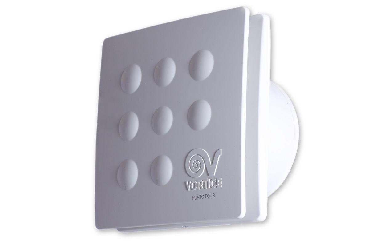 Вытяжной бытовой бесшумный вентилятор Punto Four MFO 90/3,5 (11143VRT)