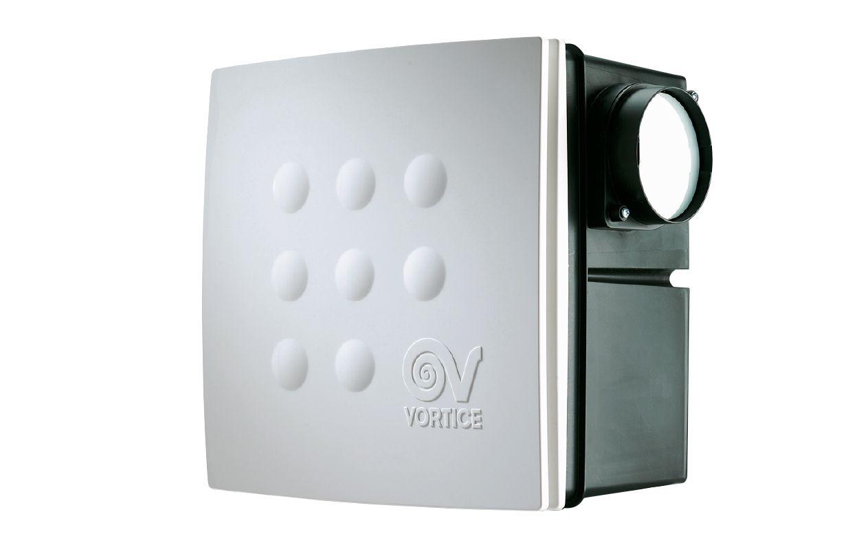Вытяжной центробежный вентилятор Quadro Micro 100 I ES (12045VRT)