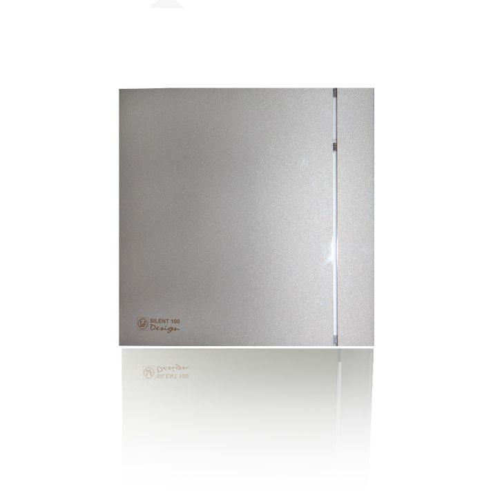 Вытяжной бытовой вентилятор Soler and Palau SILENT-300 CZ SILVER DESIGN-3C