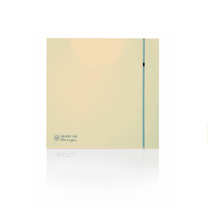 Вытяжной бытовой вентилятор Soler and Palau SILENT-100 CHZ IVORY DESIGN-4C