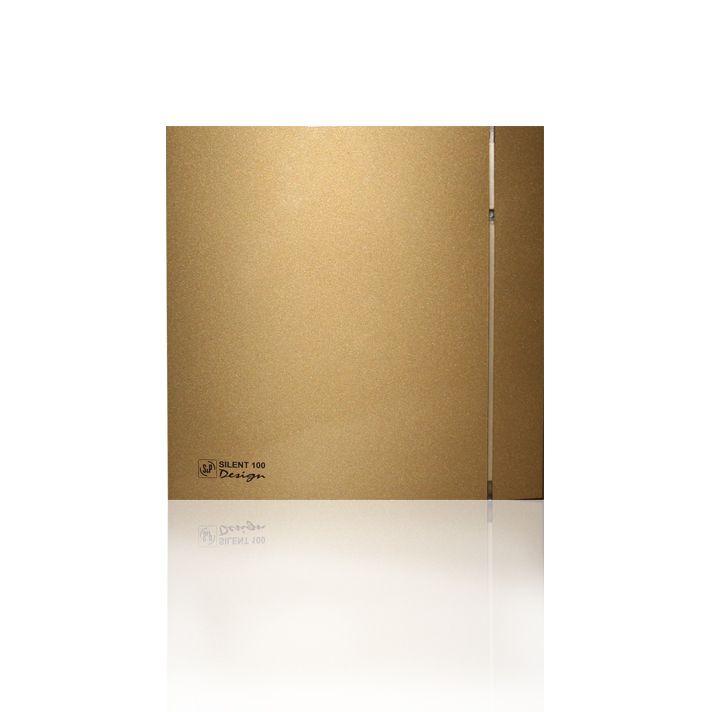 Вытяжной бытовой вентилятор Soler and Palau SILENT-100 CHZ GOLD DESIGN-4C