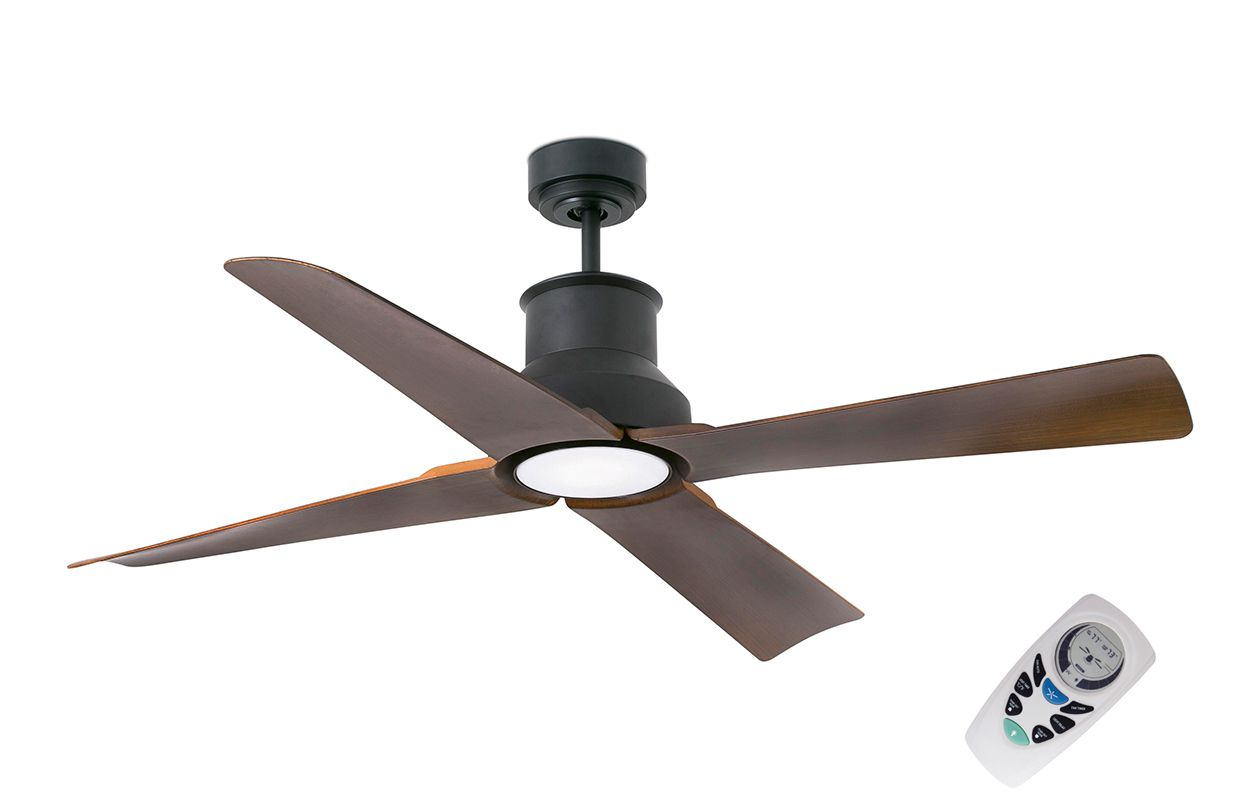 Люстра вентилятор уличного применения  Winche Marron 1L (334811LFAR)