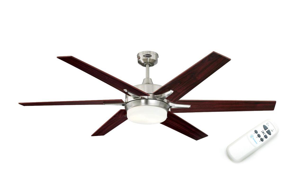 Люстра вентилятор Cayuga (72077WES)
