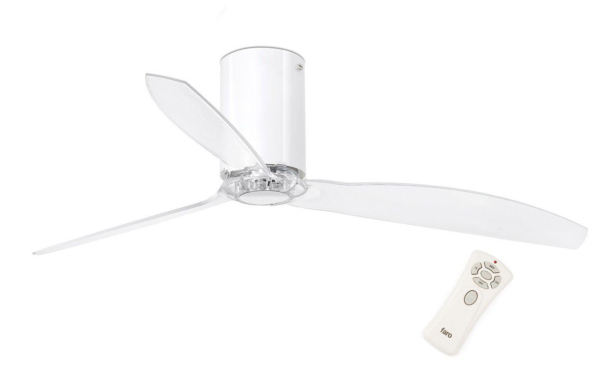 Потолочный вентилятор Mini Tube Fan Shiny White (32038FAR)