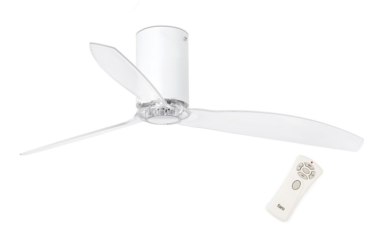 Потолочный вентилятор Mini Tube Fan Matt White (32039FAR)