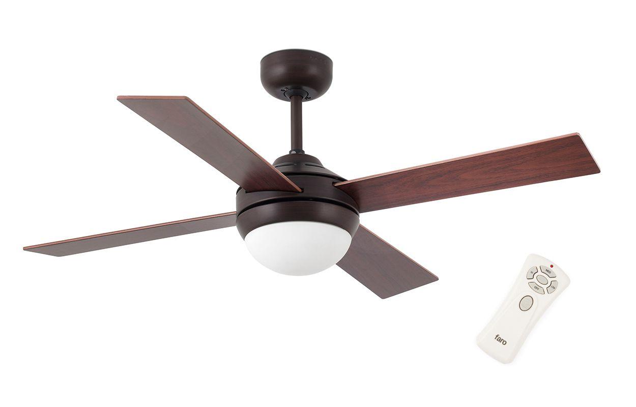 Люстра вентилятор Mini Icaria Bronze (33697FAR)
