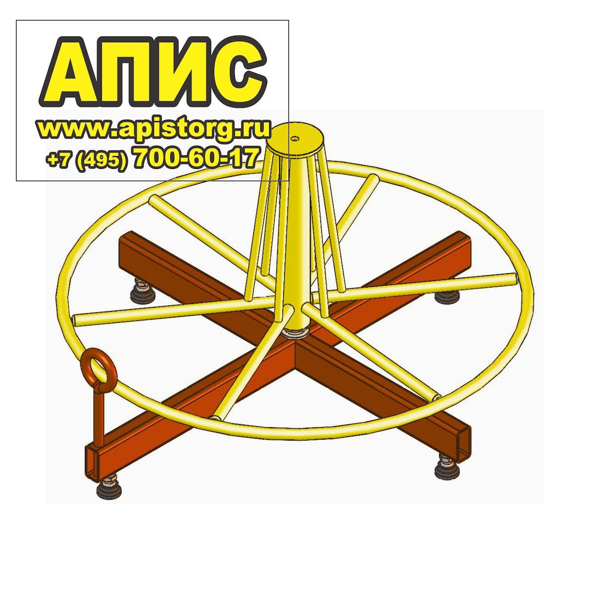 устройство для размотки кабеля в бухтах высокотехнологичных